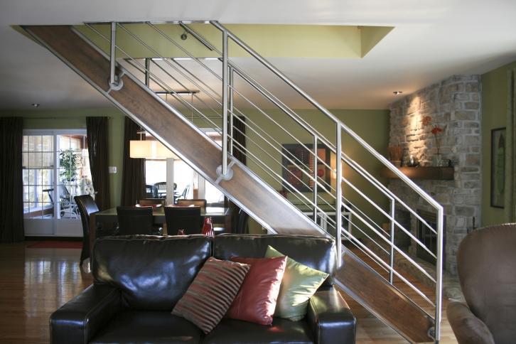 Zen Stainless Steel Stairs Battig Design