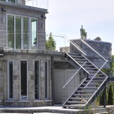 escalier exterieur sherbrooke