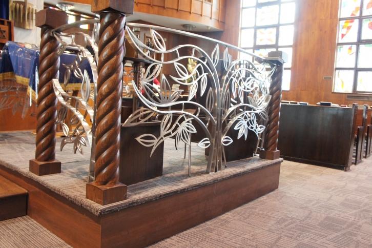 L 39 arbre saint contemporain rampes et garde corps battig design - Garde corps ontwerpen contemporain ...