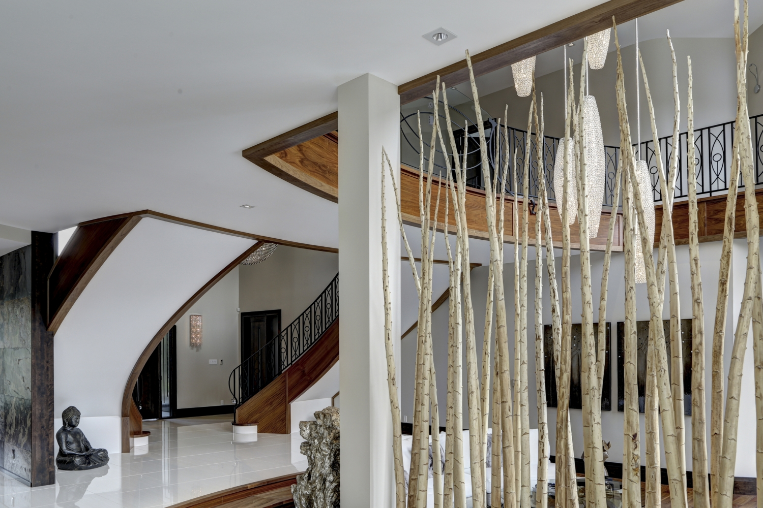 Pesci contemporain rampes et garde corps battig design - Main courante escalier originale ...