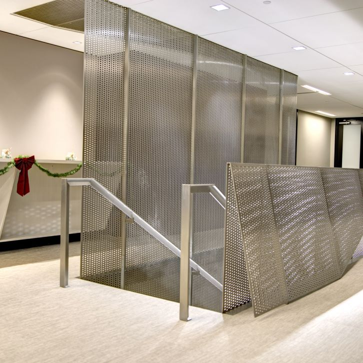 escalier rideau flottants escaliers battig design. Black Bedroom Furniture Sets. Home Design Ideas