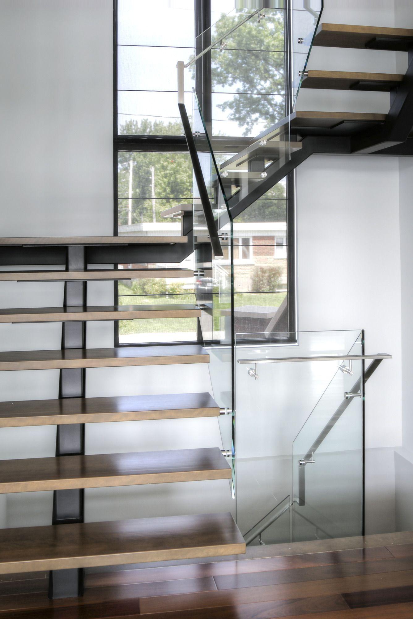 escaliers modernes b ttig design. Black Bedroom Furniture Sets. Home Design Ideas