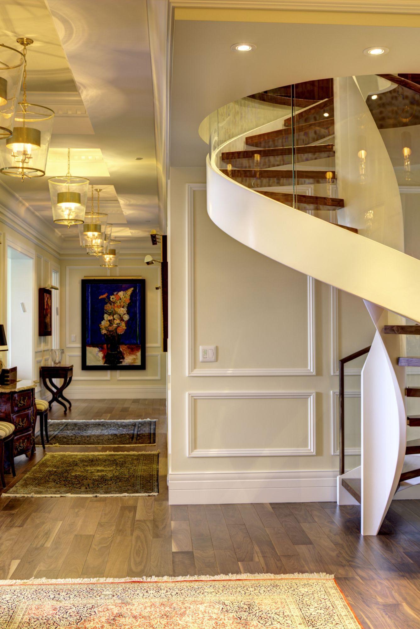 rampes d 39 escalier de style contemporain garde corps contemporain b ttig design. Black Bedroom Furniture Sets. Home Design Ideas