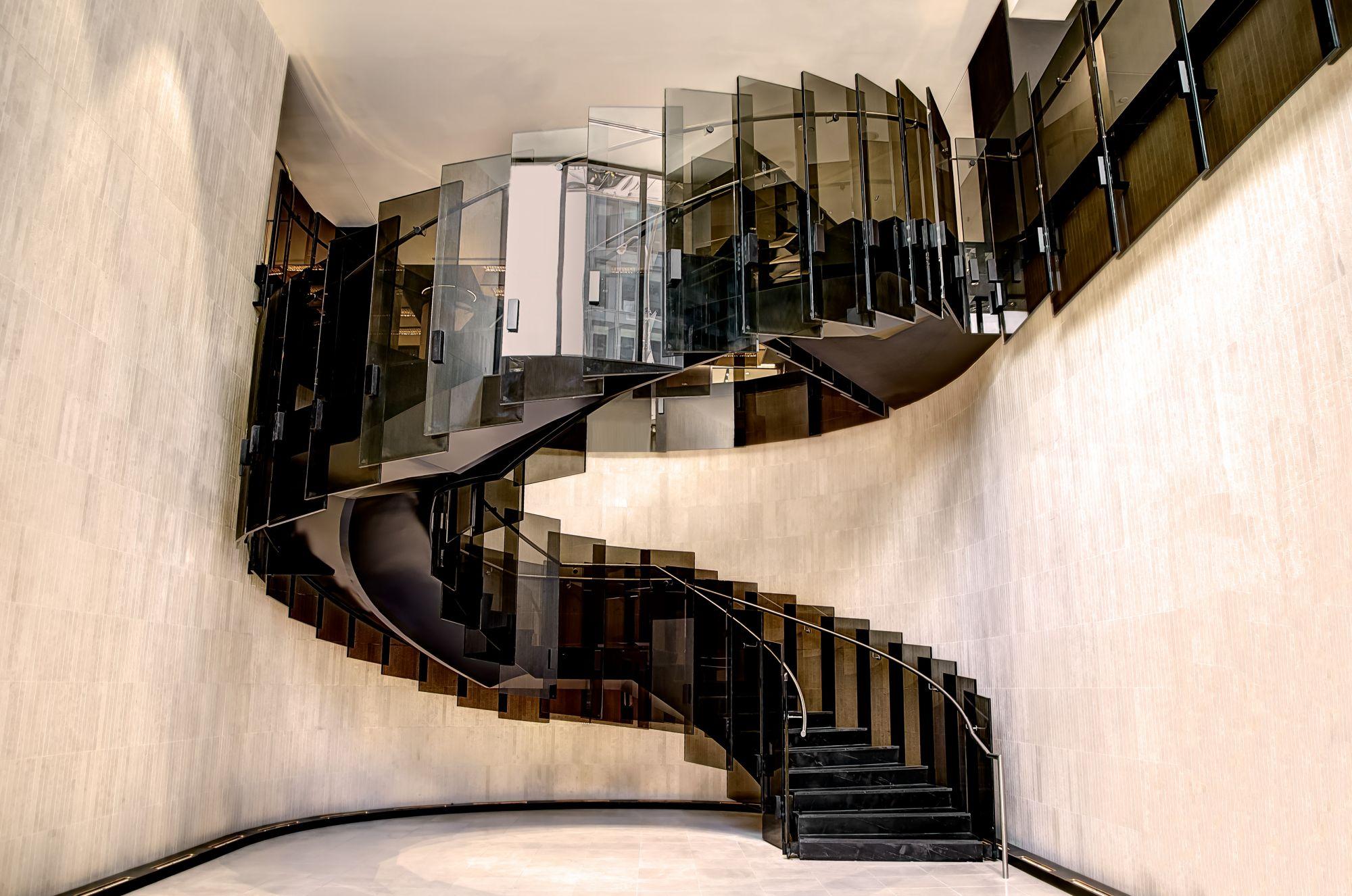 Escalier Vitre Le Reine Élizabeth