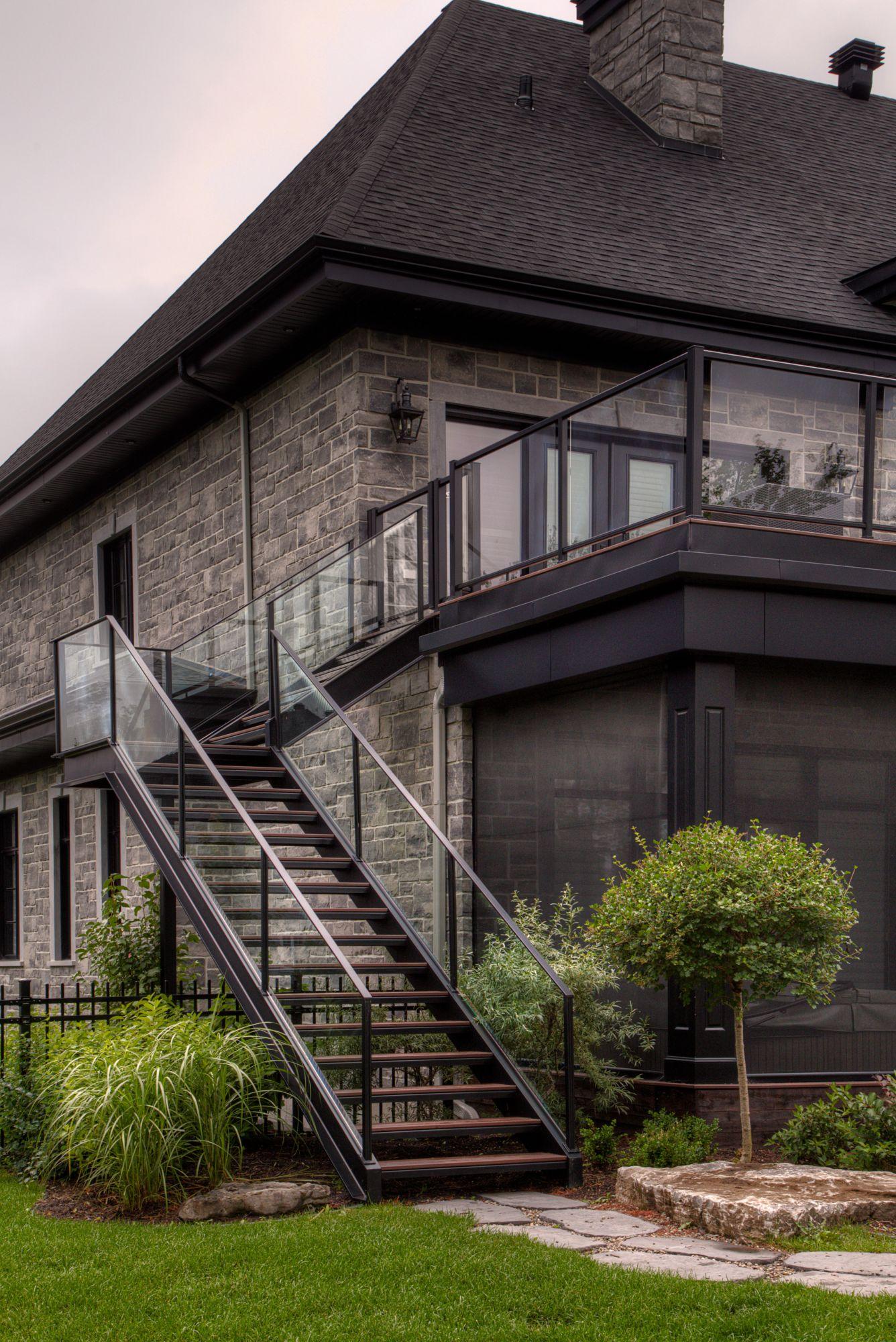Outdoor Stairs Museum Battig Design